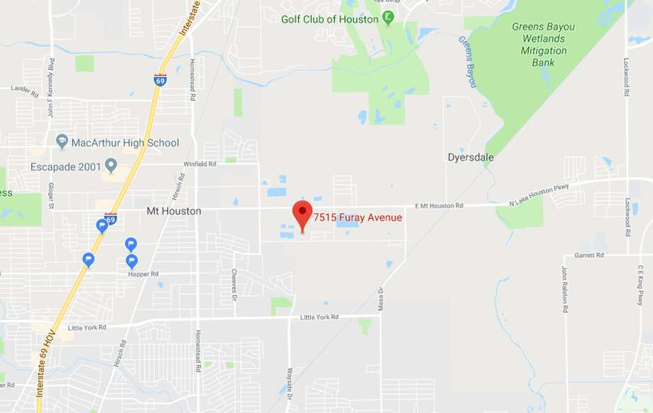 A dead body was found in the trunk of a car Thursday morning in the 7500 block of Furay Avenue, according to the Harris County Sheriff's Office. Photo: Google Maps