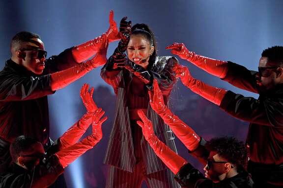 LAS VEGAS, NEVADA - MAY 01: Ciara performs onstage during the 2019 Billboard Music Awards at MGM Grand Garden Arena on May 01, 2019 in Las Vegas, Nevada.