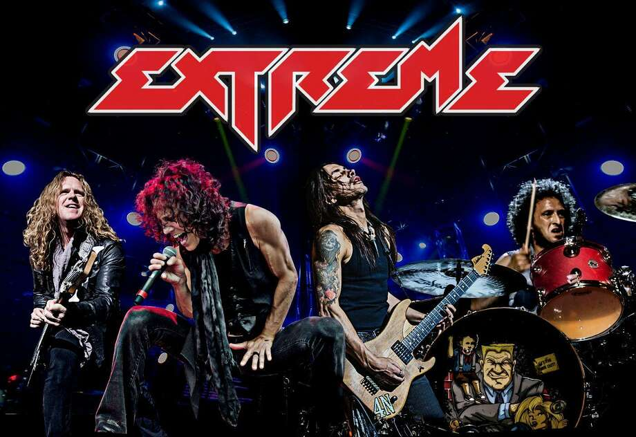 "The ""funky metal"" band Extreme is is the musical headliner in this 