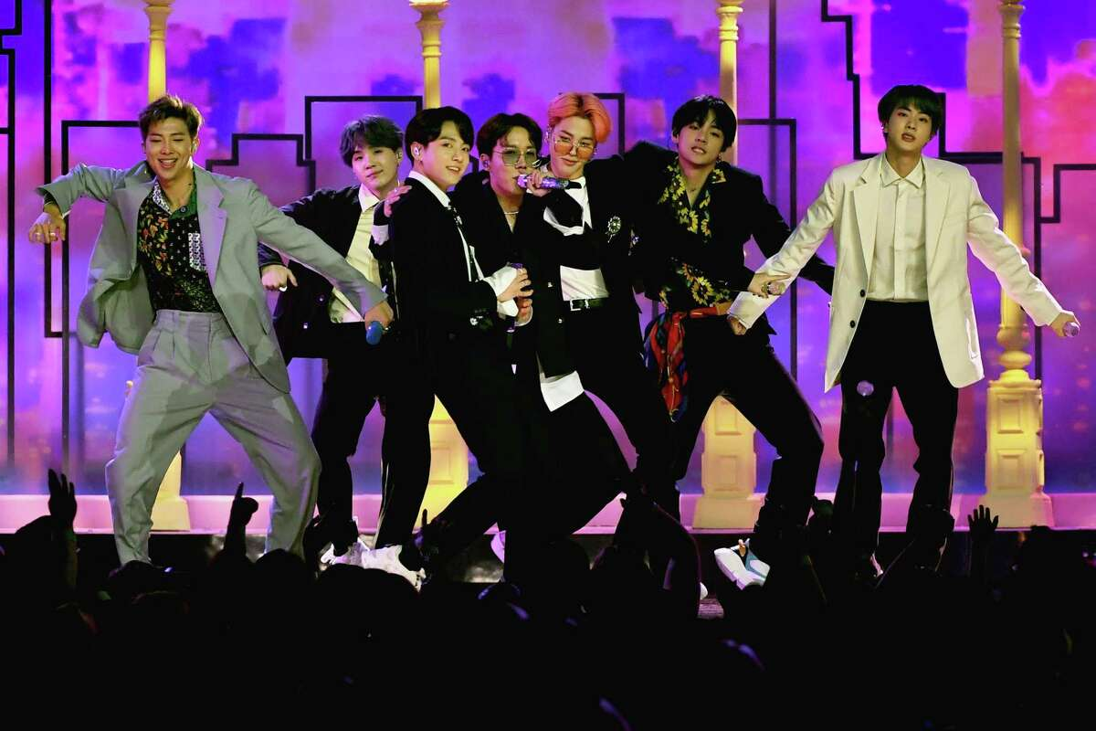 K pop, led by BTS and Blackpink, finds a home in Houston