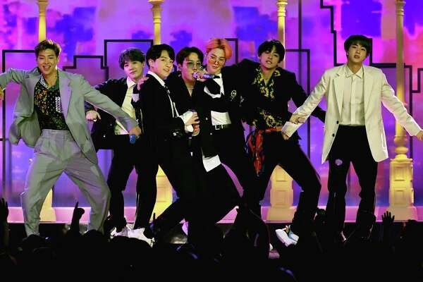 K-pop, led by BTS and Blackpink, finds a home in Houston