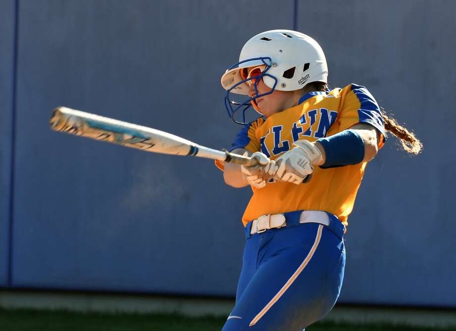 Klein senior shortstop Abby Frank was named to the 2018-19 All-District 15-6A first team, along with sophomore catcher Allie Clements. The Lady Bearkats had a total of eight selections. Photo: Jerry Baker, Houston Chronicle / Contributor / Houston Chronicle