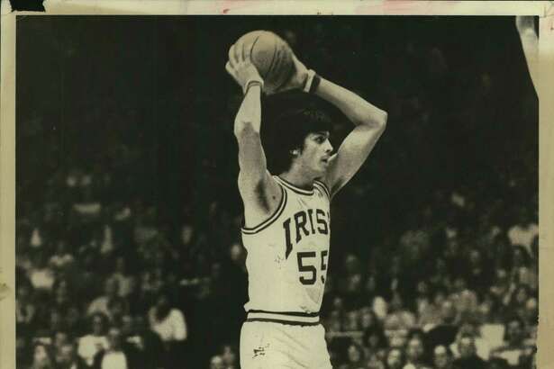 Gilbert Salinas, Notre Dame; college basketball 1980