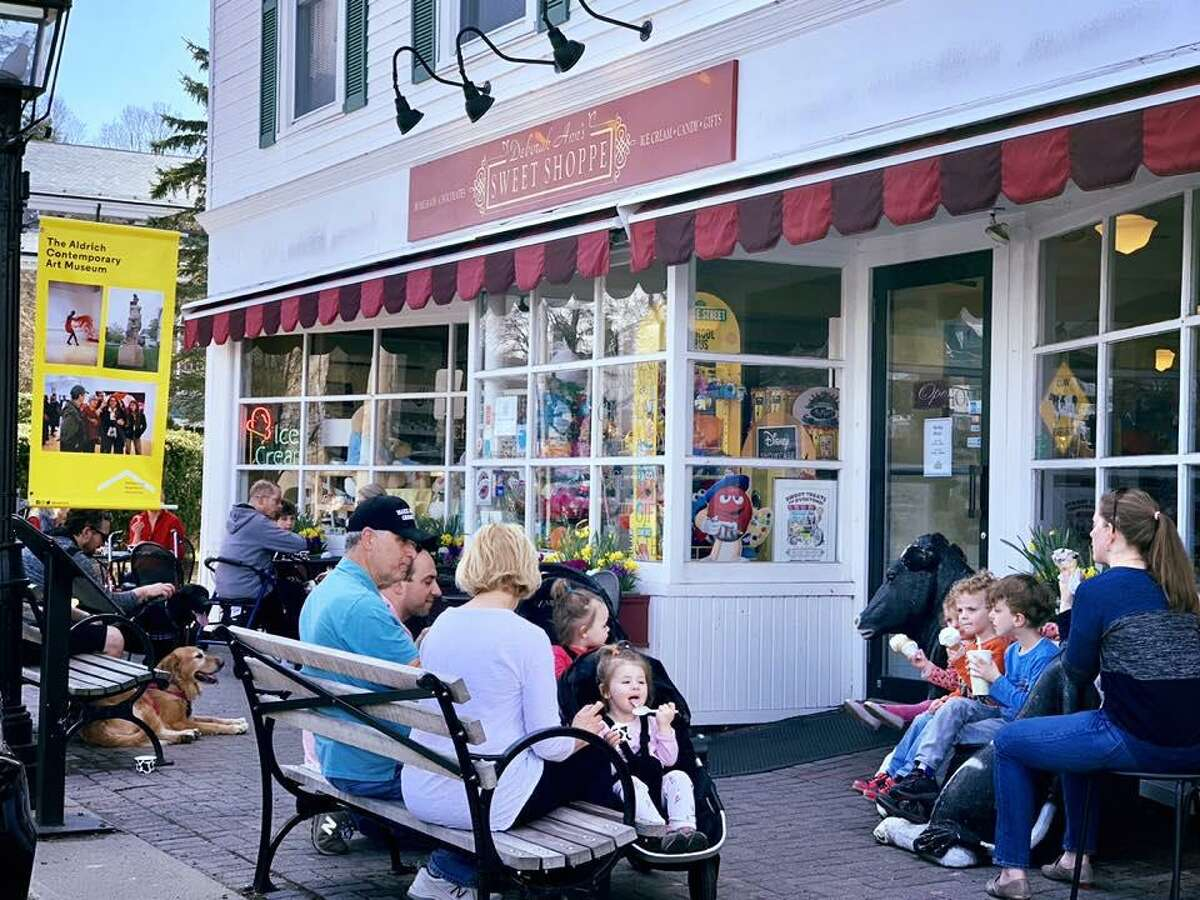 Deborah Ann's Sweet Shoppe in Ridgefield reminds Jane Stern of Archie and Veronica's mythical Riverdale.