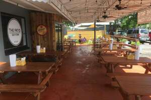 The outdoor patio area that gave The Patio Southtown its substance.