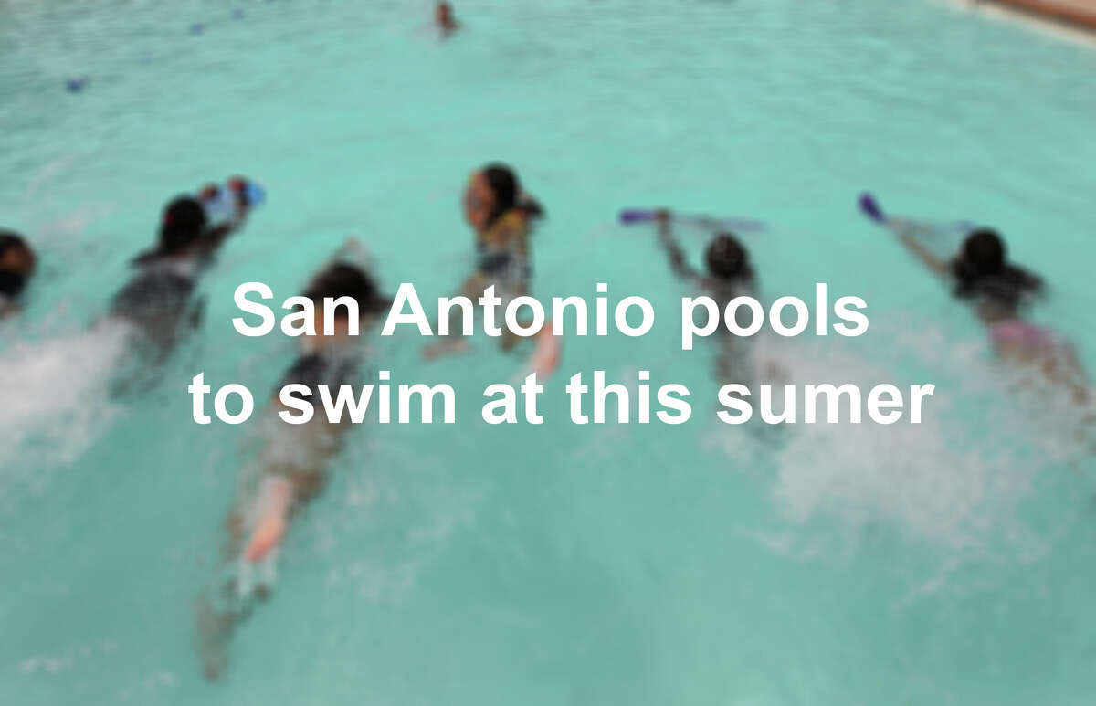 Click through the slideshow to see San Antonio pools you can splash into this summer.