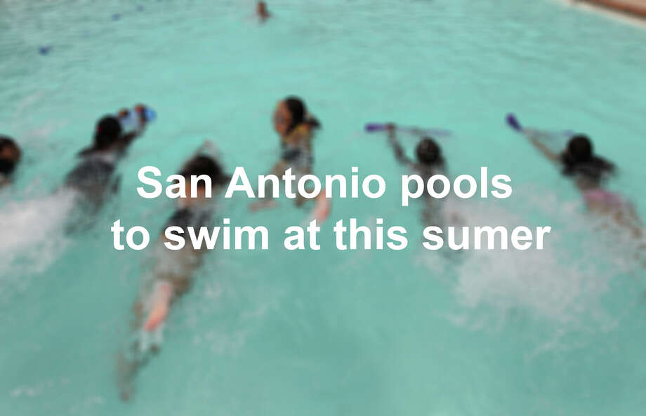 Click through the slideshow to see San Antonio pools you can splash into this summer. Photo: Kin Man Hui/San Antonio Express-News / @2012 San Antonio Express-News