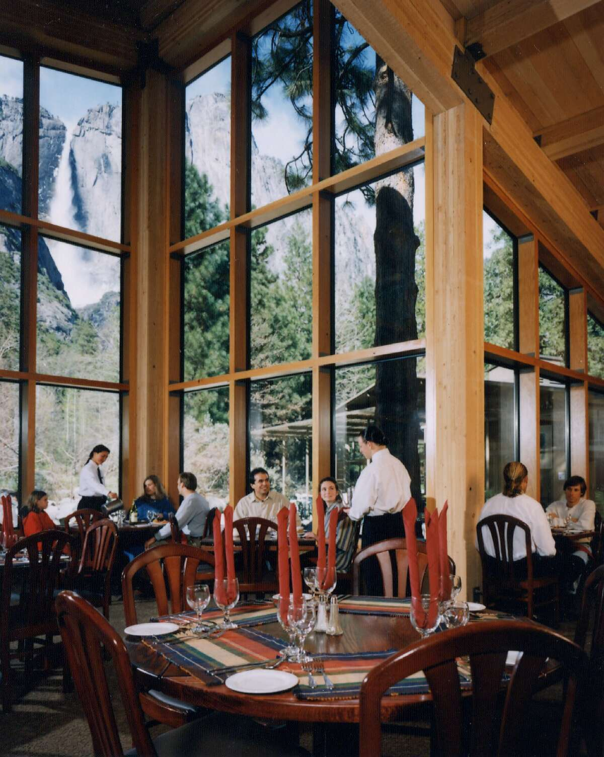 The expansion of the dining room at Yosemite Lodge was among the projects led by George Homsey during his 40+ years at the architecture firm EHDD.
