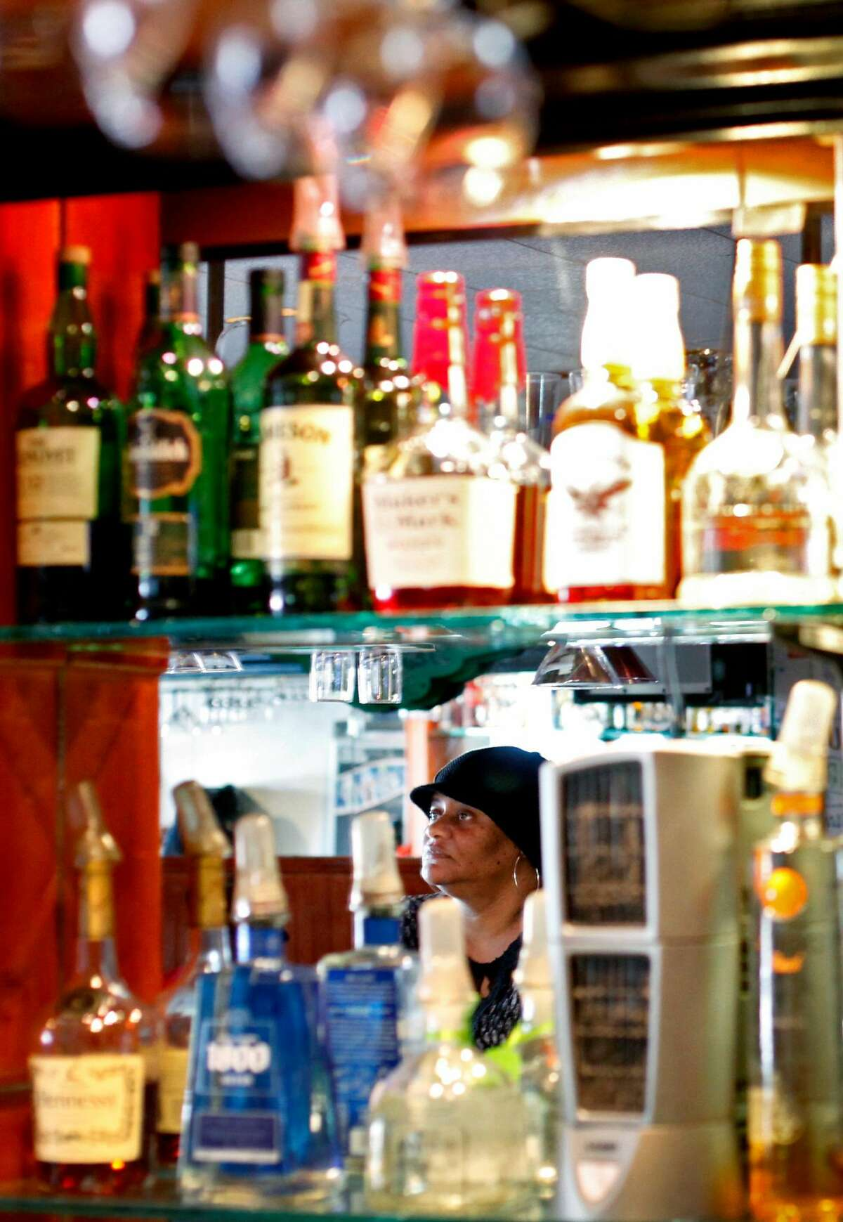 Ruth Jordan, daughter of Sam Jordan, runs Sam Jordan's Bar in San Francisco, Calif., Monday, January 21, 2013. The bar recently obtained landmark status.