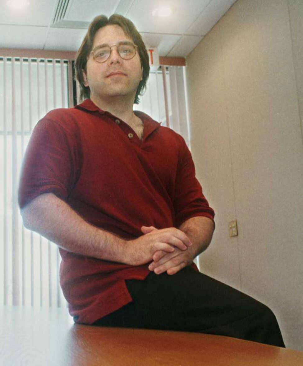 Keith Raniere in 1997 during his Consumers' Buyline days. (Luanne M. Ferris / Times Union)