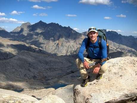 Backpacker Andrew Skurka in Yosemite National Park.