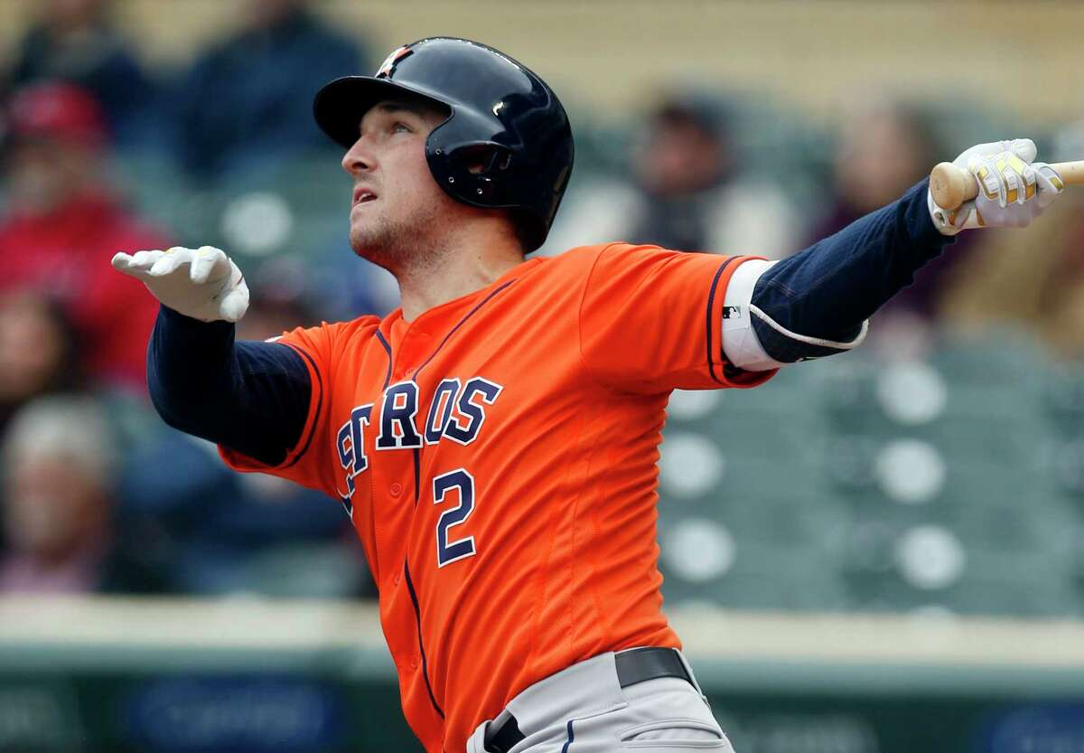 Alex Bregman connected for a solo homer in Thursday's loss at Minnesota, but the Astros need greater production out of him and other hitters in the lineup.