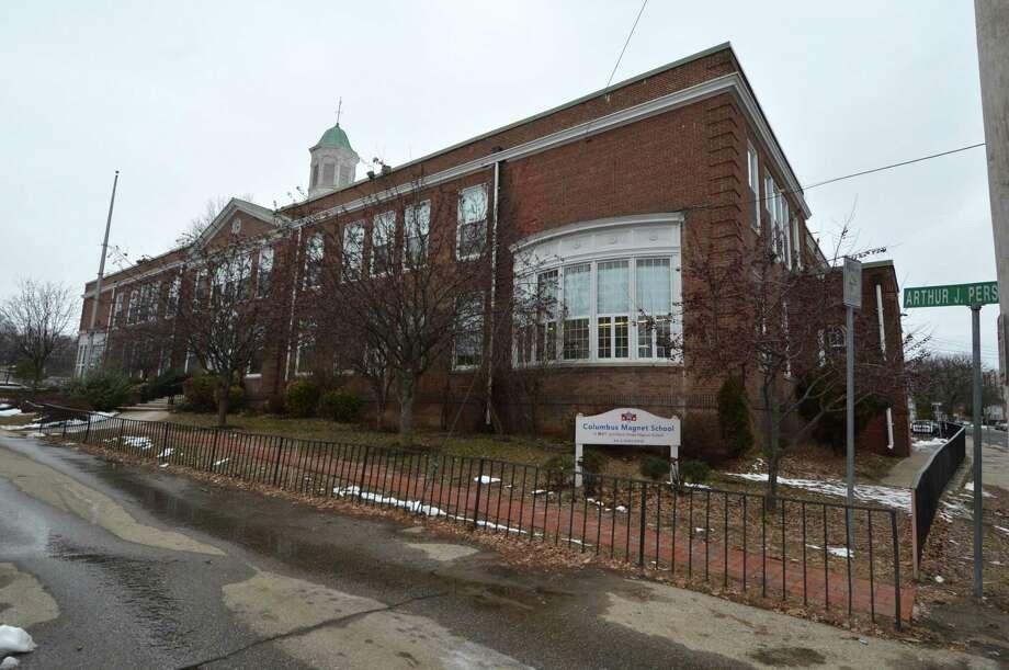Columbus Magnet School on Monday February 19, 2018 in Norwalk Conn. Photo: Alex Von Kleydorff / Hearst Connecticut Media / Norwalk Hour