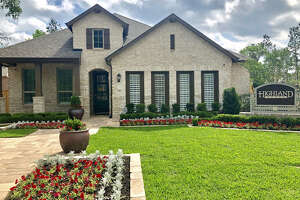 Highland Homes has opened a model home in The Crest, a new neighborhood planned for 700 homes in Woodforest north of Houston.