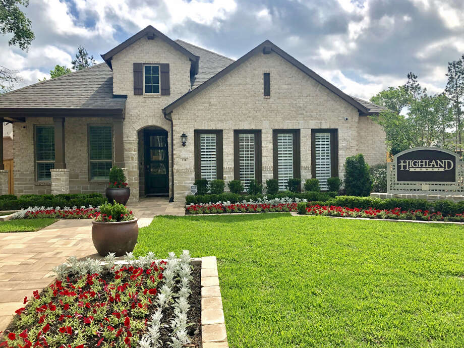 Highland Homes has opened a model home in The Crest, a new neighborhood planned for 700 homes in Woodforest north of Houston. Photo: Woodforest