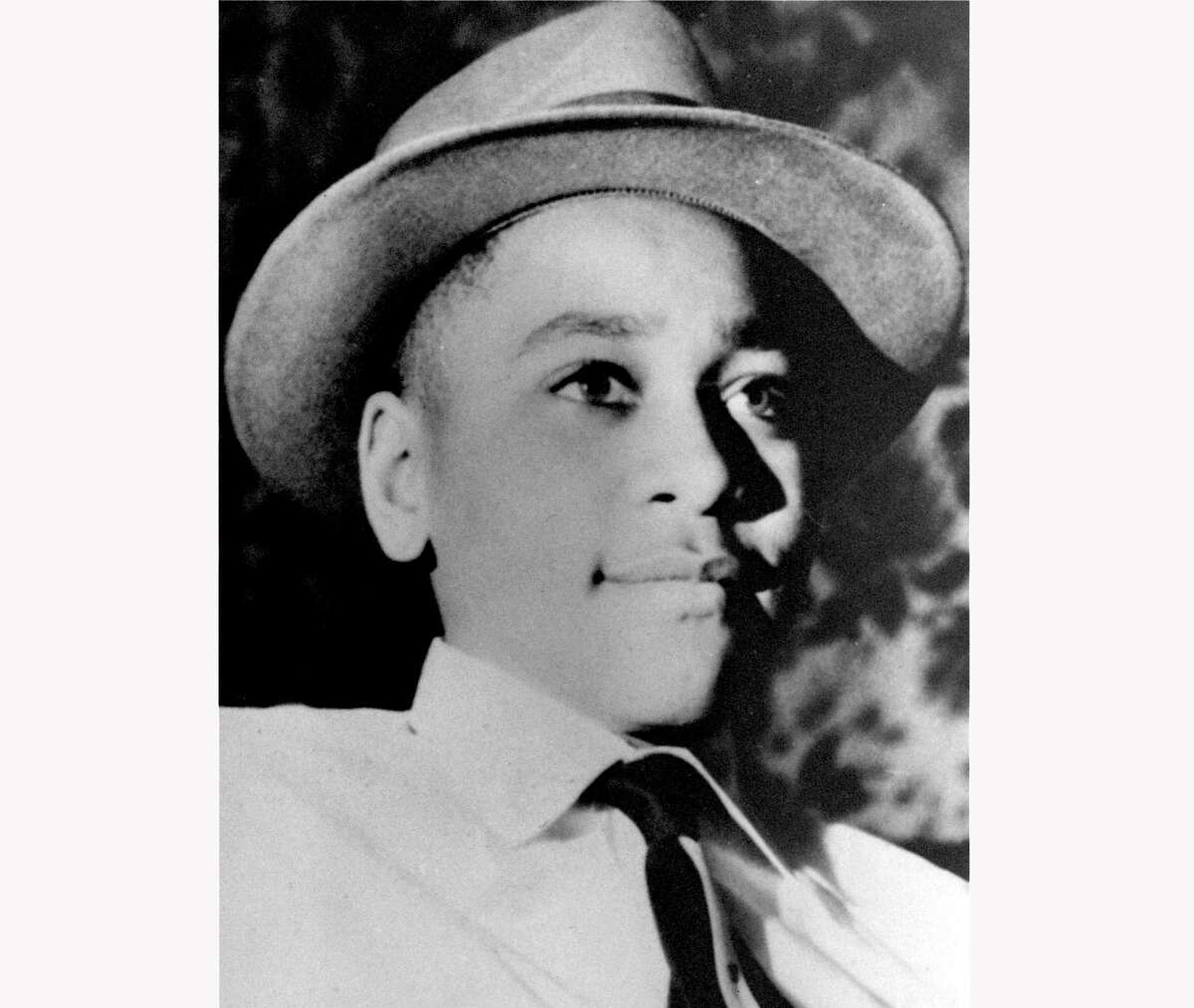 This undated file photo shows Emmett Louis Till, a 14-year-old black Chicago boy, who was kidnapped, tortured and murdered in 1955 after he allegedly whistled at a white woman in Mississippi. The teenager's brutal killing in Mississippi helped inspire the civil rights movement more than 60 years ago.