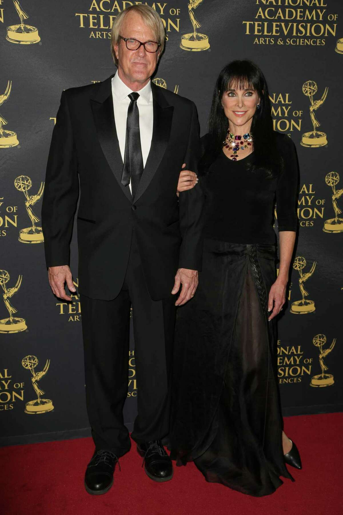 """TESH AT KATE: John Tesh, left, shown with Connie Sellecca in 2015, will present """"Songs and Stories from the Grand Piano"""" on Thursday, May 9, at 7:30 p.m. at The Kate in Old Saybrook. Tickets ($65) are at TheKate.org."""