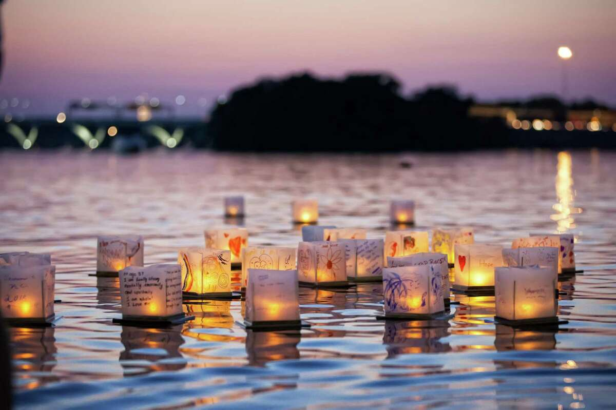 Check out a Lantern Festival A floating water lantern festival is happening this Saturday at the Ives Concert Park in Danbury. The festival will kick off with music and food trucks at 5:30 p.m., followed by lantern designing at 8 p.m. and a lantern launch into Ives Pond at 9 p.m.