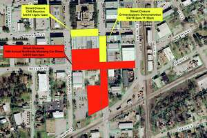 The city of Conroe is closing several streets for events Saturday.