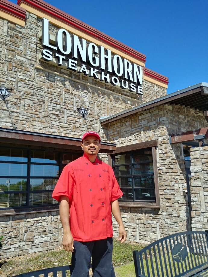 Mario Salinas — grill master at the LongHorn Steakhouse at 20636 Katy Freeway in Katy — was recently named regional champion of the brand's Steak Master Series, a culinary competition where the restaurant's top-performing grilling experts vie for the title of national champion. He is one of 60 team members across the country to achieve this distinction out of the more than 5,000 who were invited to participate in the competition. Photo: Courtesy Photo
