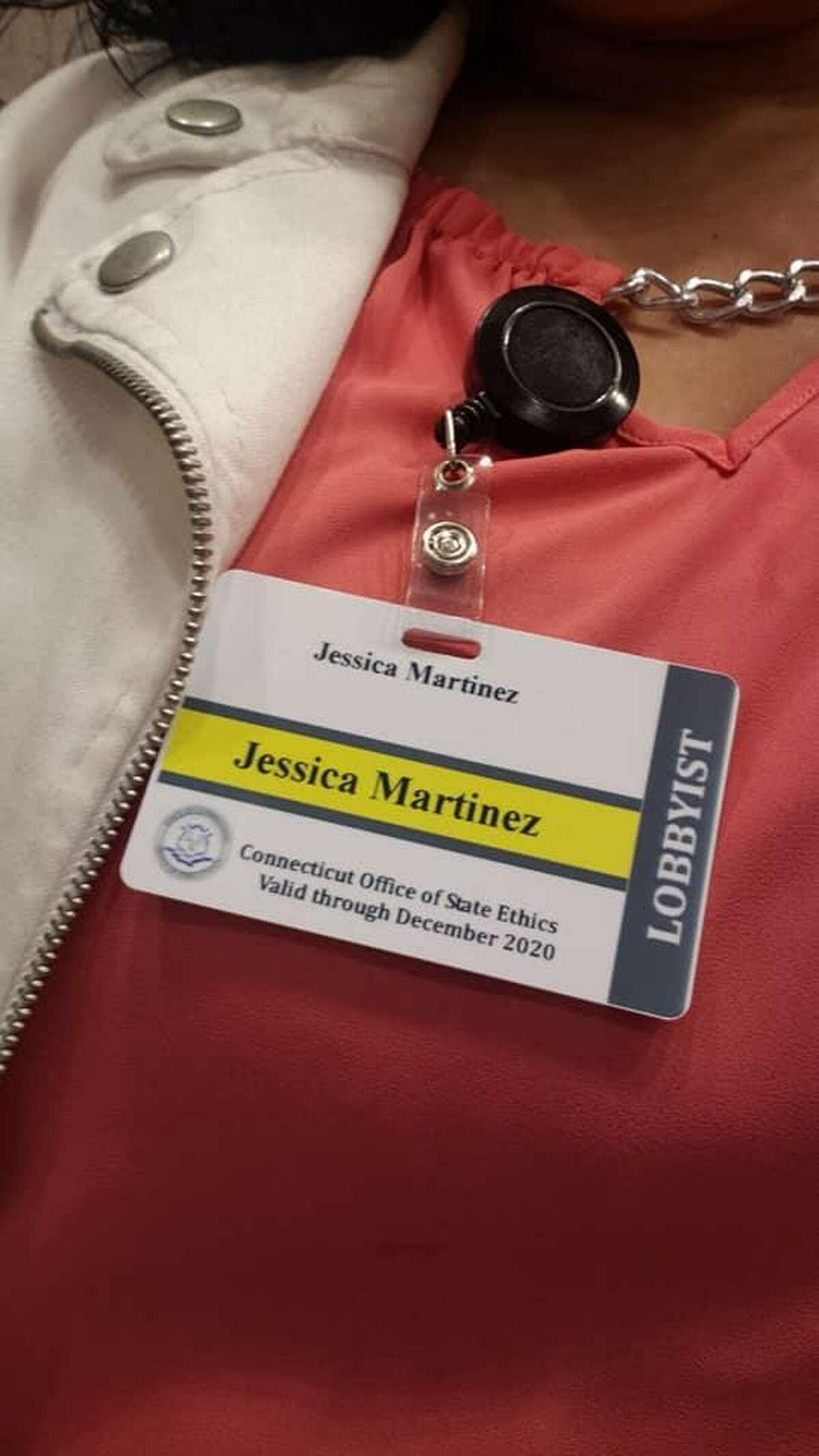 Bridgeport School Board Member Jessica Martinez is also a lobbyist for the school choice movement.