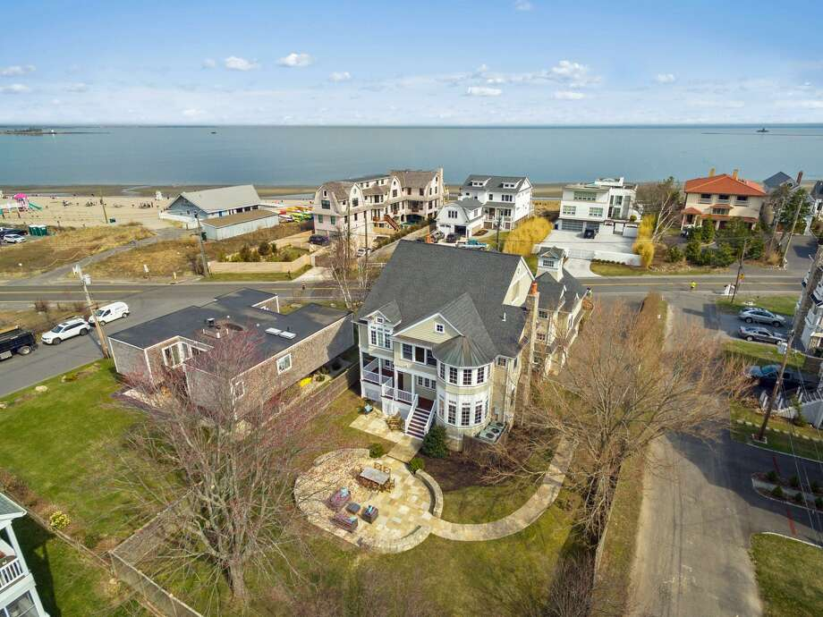 This house is in the Beach neighborhood just steps from Penfield Beach. Photo: Contributed Photo