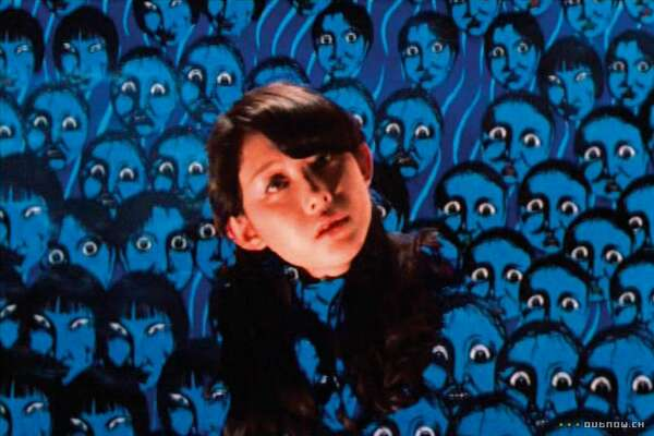 """A still from the psychedelic 1977 film """"Hausu,"""" directed by Nobuhiko Obayashi. It will screen at 7 p.m. on Aug. 17, 2019 as part of the """"Haunted! Gothic Tales by Women"""" series at the SFMOMA."""