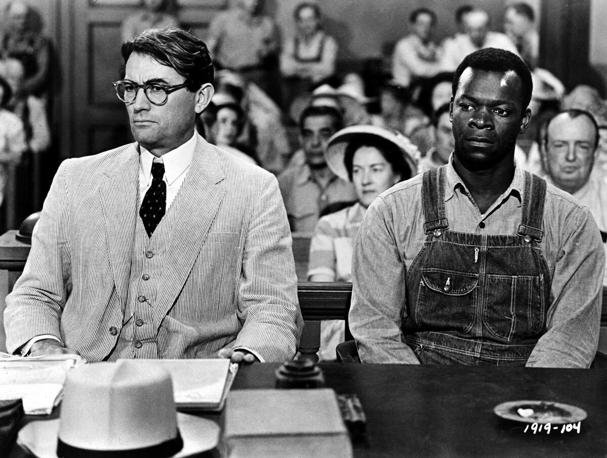 """""""To Kill a Mockingbird"""" (1962) - Colusa The exterior of the courthouse seen in the film is the Colusa County Courthouse, although the scenes of the courthouse's interior were filmed at a Universal Studios Hollywood reproduction of Monroeville, Alabama."""