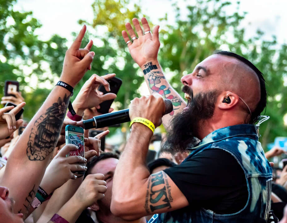 Killswitch Engage performs at So What?! Music Festival at White Oak Music Hall in Houston. Photo: Laura MacPherson