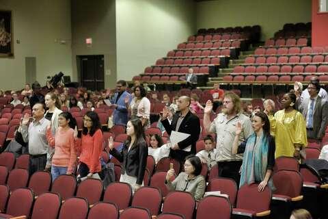 Photos: New citizens sworn in - San Antonio Express-News