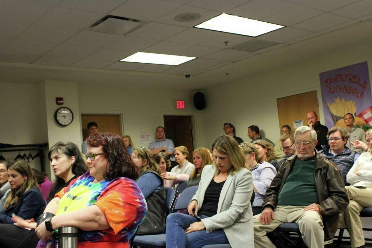 Over 60 parents attended the Board of Education town hall at the board's central offices April 30.