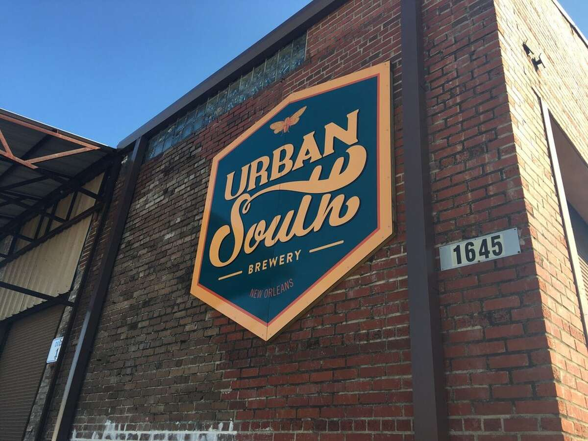 New Orleans-based Urban South Brewery will open a 14,000-square-foot brewery in Houston at 1201 Oliver in Sawyer Yards. It is expected to open in fall 2019. Image from the New Orleans brewery, launched in 2016 at 1645 Tchoupitoulas in the city's Lower Garden District.