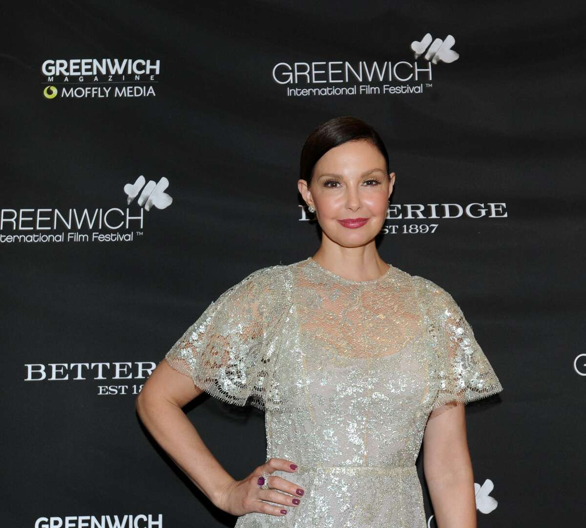 Ashley Judd during the Greenwich International Film Festival Changemaker Gala at Betteridge Jewelers in Greenwich, Conn., Thursday, May 31, 2018. The gala honored actress and activist honoring Judd. The 2019 gala will honor actress Eva Longoria Baston and Greenwich's Bobby Walker Jr.