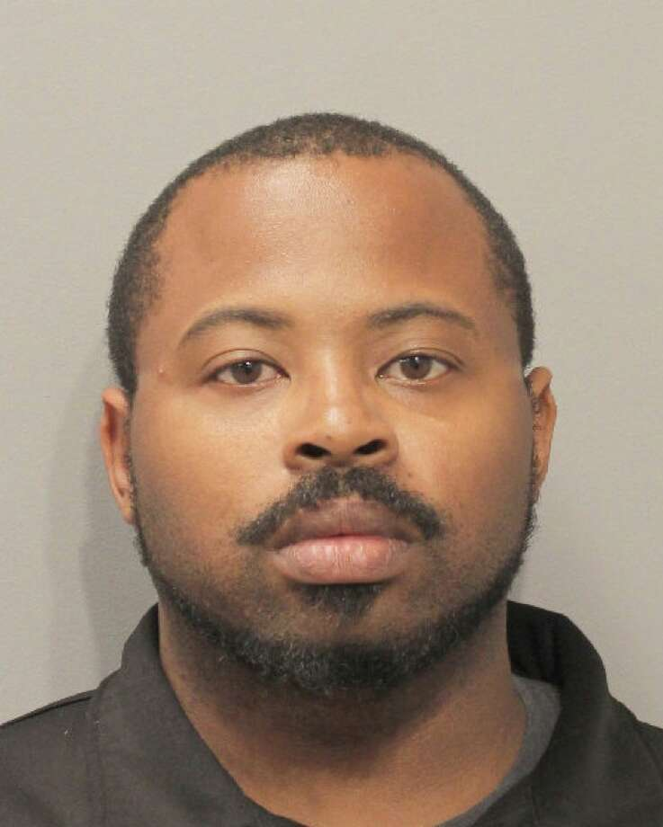 Oscar Harrison, 33, was charged with failure to stop and render aid after allegedly leaving Alberto Nduli, 68, to die while repossessing Nduli's vehicle Thursday, May 2, 2019. Photo: Houston Police Department