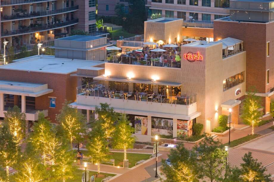 Crush Wine Lounge, a staple of waterway Square in The Woodlands, has closed effective April 30, 2019. The restaurant had an elaborate rooftop terrace with private cabanas and a stunning view of Market Street and the Waterway area of the township. Photo: Images Courtesy Nickole Kerner Bobley / Images Courtesy Nickole Kerner Bobley