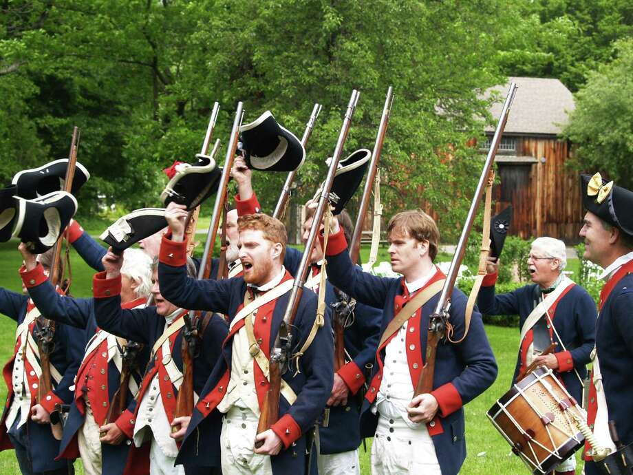 Memorial Day weekend begins with a bang at the Webb-Deane-Stevens Museum Revolutionary War Encampment. The events begins at 10 a.m. on Saturday, May 25 at 211 Main St., following the Wethersfield Memorial Day parade, and lasts until 4 p.m. Admission to the encampment is free; regular admission will be charged for optional tours of the museum. Photo: Contributed Photo