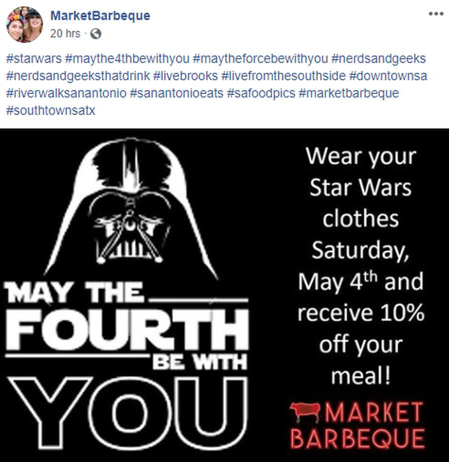 Market Barbeque's May the Fourth Be With You