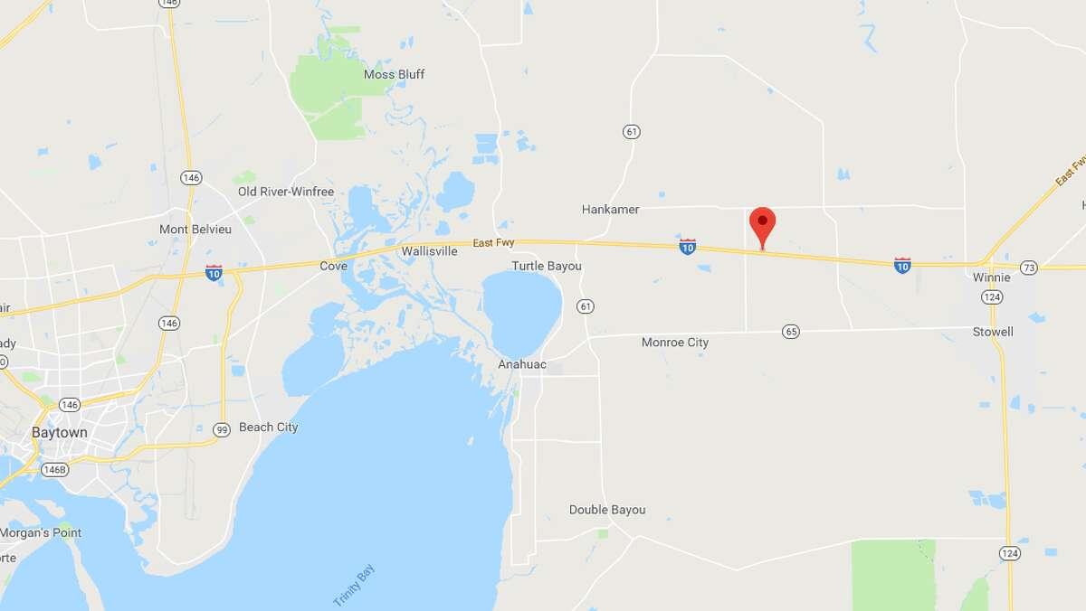 Interstate 10 Mile marker 821 Alleged speed: 115 Posted speed limit: 60