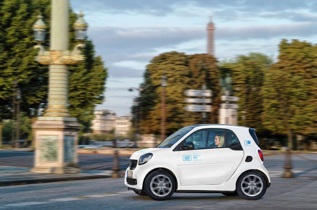 Smart EQ ForTwo Rank: 9 MSRP: Starts at $23,900 No image of the vehicle was available