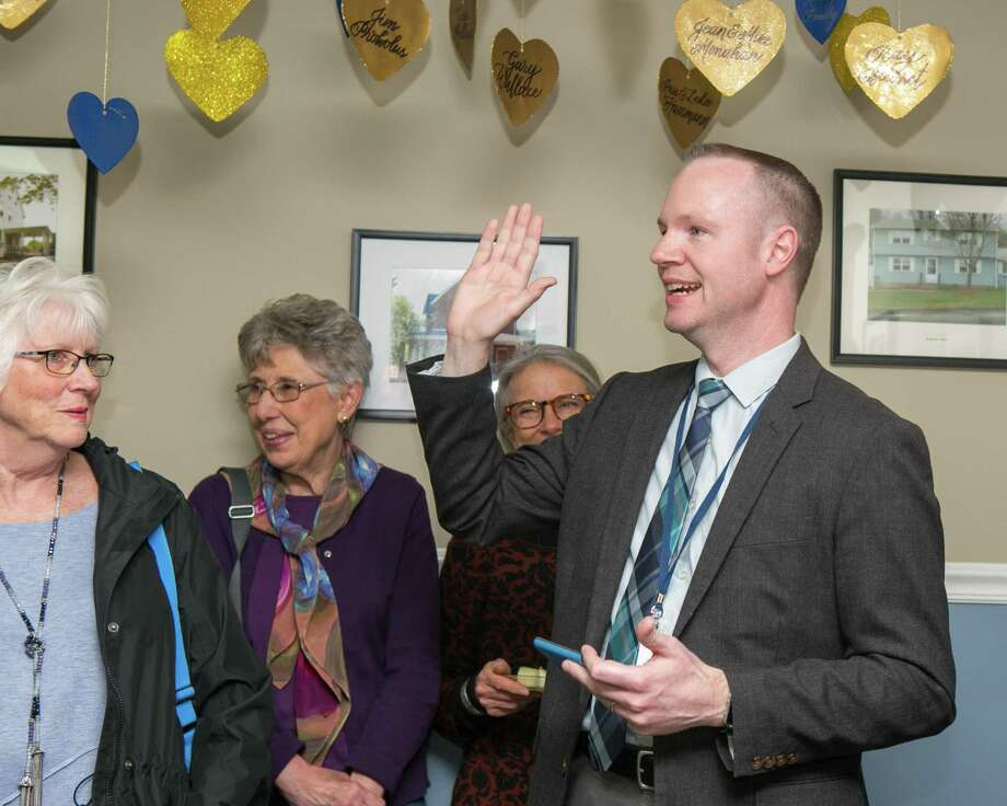 Here, Gilead Community Services of Middletown celebrate its Hearts of Gold and Anniversary Endowment campaigns in 2018. During May 2019, Mental Health Month, the Middlesex United Way is highlighting the agency's work. Photo: File Photo