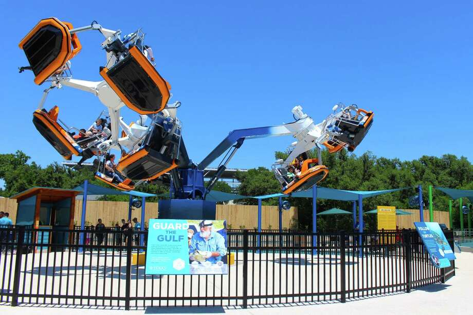 An immersive sea turtle exhibit and two new rides debut Friday, May 3, 2019 at SeaWorld San Antonio. Photo: Courtesy Of SeaWorld San Antonio