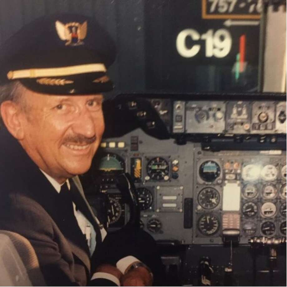 "James C. Hale was part of ""an elite group of pilots"" at United, says his wife, Bobbi Hale. Photo: Courtesy Photo"