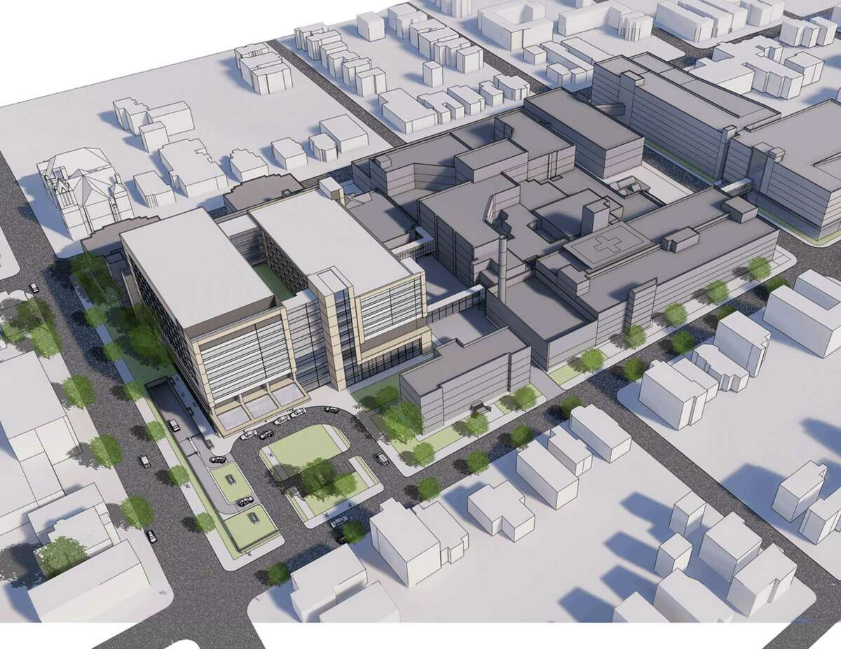 A new Neuroscience Center will be built at the St. Raphael campus of Yale New Haven Hospital in New Haven.