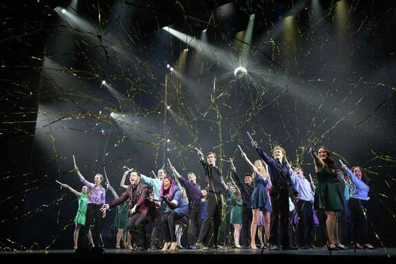 """Students performed in between presentation of awards during the 17th Annual Tommy Tune Awards on April 30, 2019, including a selections from """"Disney's Newsies"""" and a finale performance of """"Last Dance"""" from """"Summer: The Donna Summer Musical."""""""