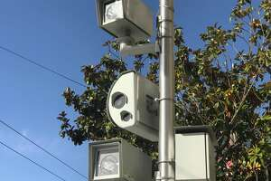 New red-light cameras, like these at Fourth and Harrison streets, are being installed around San Francisco.