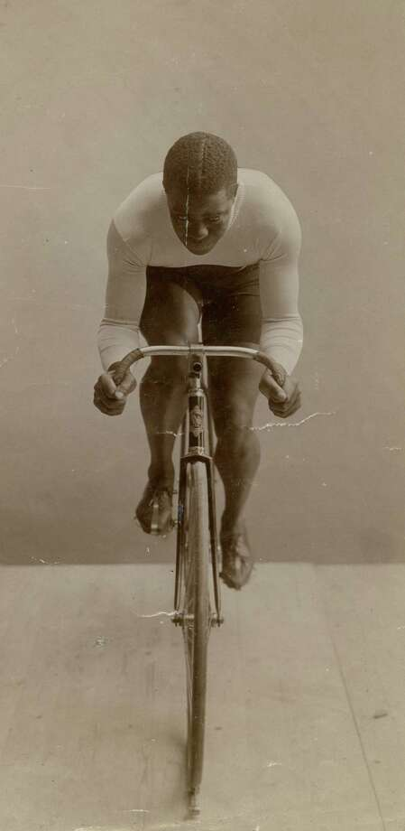 """Marshall """"Major"""" Taylor made his professional racing debut at a six-day race at New York's Madison Square Garden in December 1896. Photo: Major Taylor Collection, Indiana State Museum / Major Taylor Collection, Indiana State Museum"""