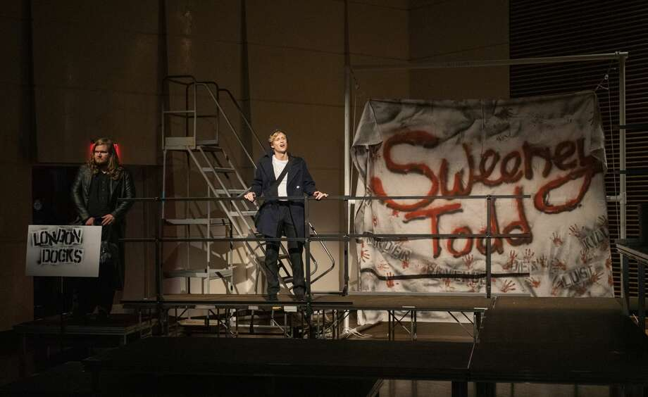 The University of Texas of the Permian Basin students rehearse Sweeney Todd on Wednesday, May 1, 2019 in the Rea Greathouse Theater a the Wagner Noel Performing Arts Center. Photo: Jacy Lewis/191 News