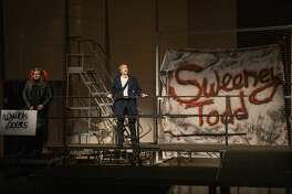 The University of Texas of the Permian Basin students rehearse Sweeney Todd on Wednesday, May 1, 2019 in the Rea Greathouse Theater a the Wagner Noel Performing Arts Center.