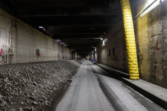Filling of Seattle's Battery Street Tunnel using viaduct rubble could begin as early as next week