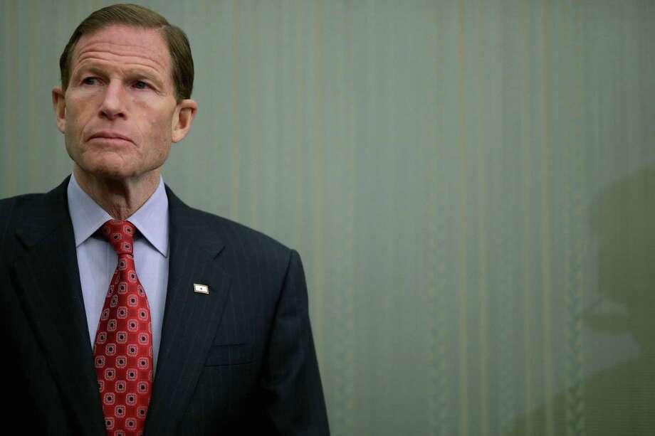 Sen. Richard Blumenthal (D-CT) Photo: Chip Somodevilla / Getty Images / 2014 Getty Images